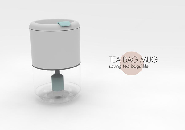 Tea-bag Mug by Yizhe Zhou