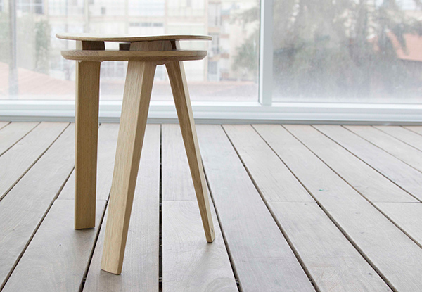 Tension Stool by Dmitry Kirgizov