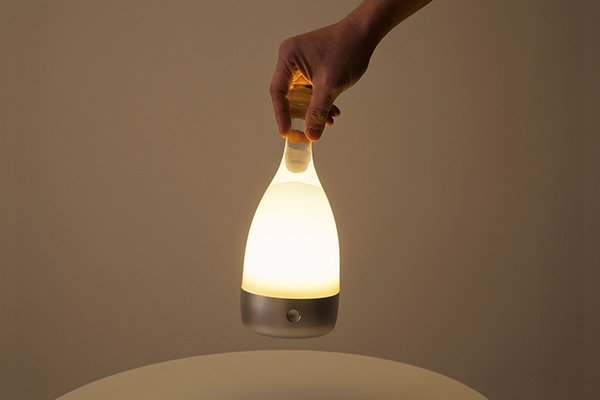 Bottled Lamp by Ryu Kozeki