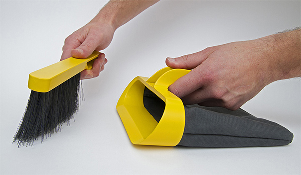 Dustpan & Brush by Ariel Anisfeld