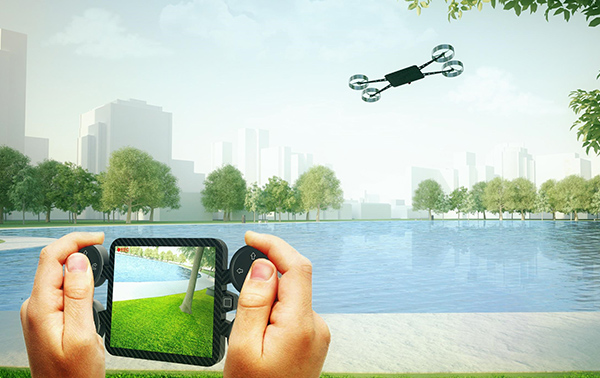 Phonecopter by Joe Sardo & Federico Bruni