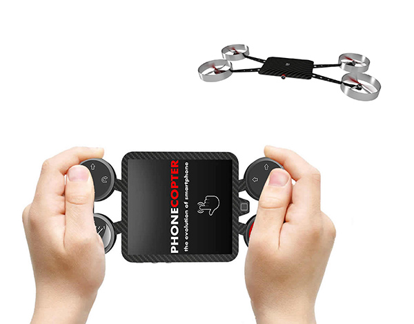 The Drone Phone - image phonecopter_02 on http://bestdesignews.com