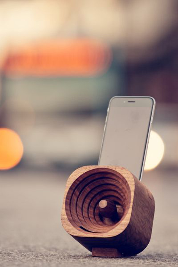 Trobla Wooden Speaker by TOK TOK