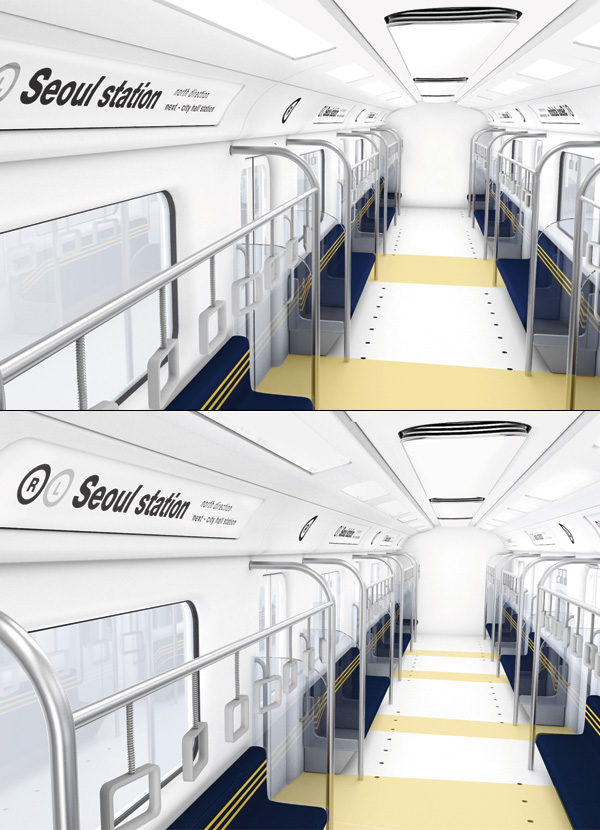 Re-design Subway by HyeonCheol Lee