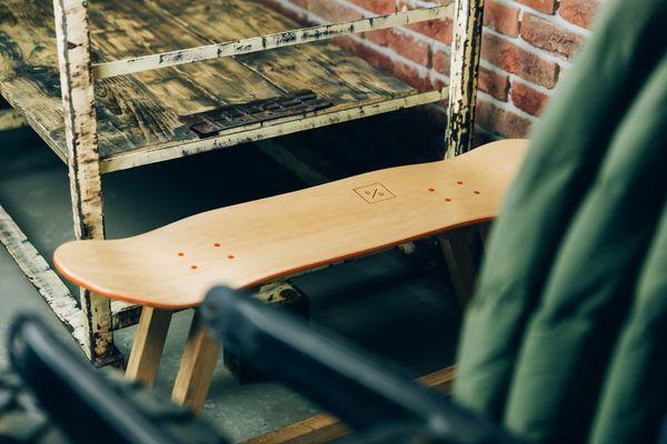What's a Skateboard with legs called? - image bakedroast_skateboard_table_15 on http://bestdesignews.com
