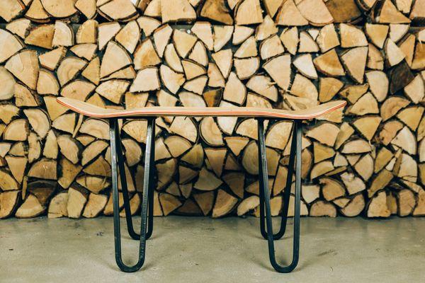 What's a Skateboard with legs called? - image bakedroast_skateboard_table_16 on http://bestdesignews.com