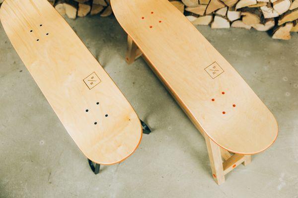 What's a Skateboard with legs called? - image bakedroast_skateboard_table_19 on http://bestdesignews.com