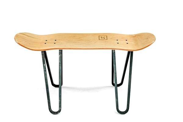 What's a Skateboard with legs called? - image bakedroast_skateboard_table_2 on http://bestdesignews.com