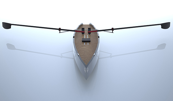 Neptune - Row Boat by Daniel Bucher