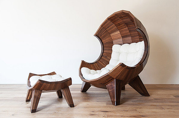 Segment Chair by Sae-rom Yoon