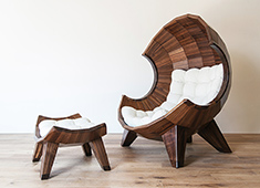 Stylishly Segmented Seating
