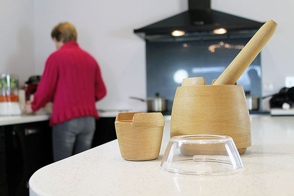 Mesto - Mortar & Pestle by Richard Chapman