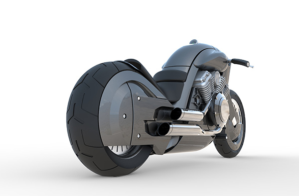 A New-Fashioned Harley - image harley_08 on http://bestdesignews.com