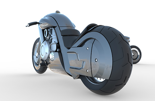 A New-Fashioned Harley - image harley_10 on http://bestdesignews.com