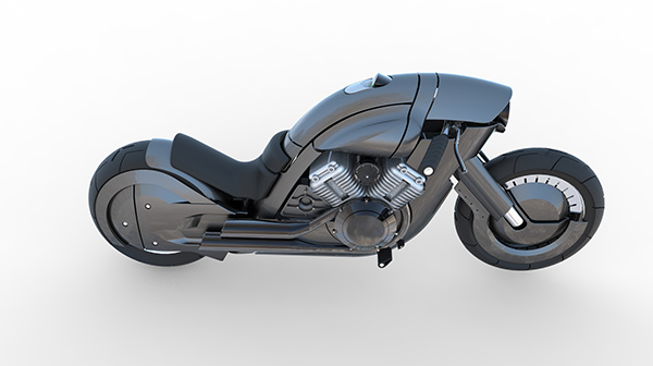 A New-Fashioned Harley - image harley_12 on http://bestdesignews.com
