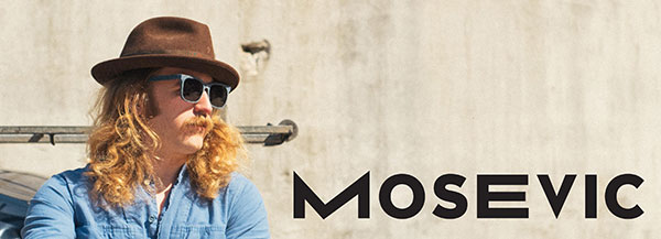 Solid Denim Sunglasses by Mosevic