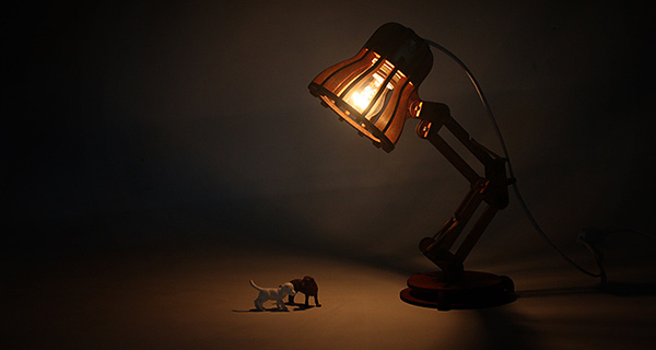 A Puzzling Lamp