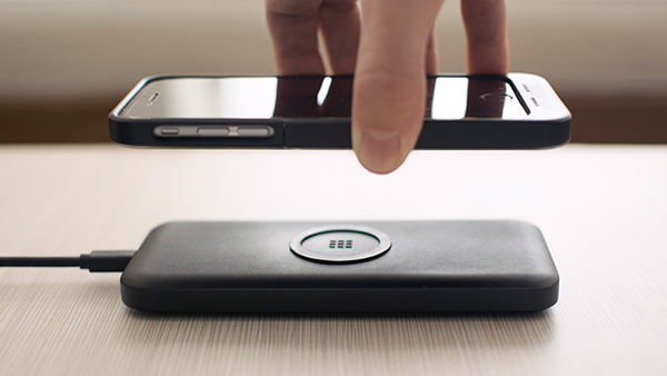 ON - Magnetic Portable Wireless Charging Solution by Rubix