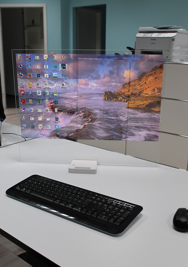 latest gadgets related to computer the disappearing screen is here yanko design 22445