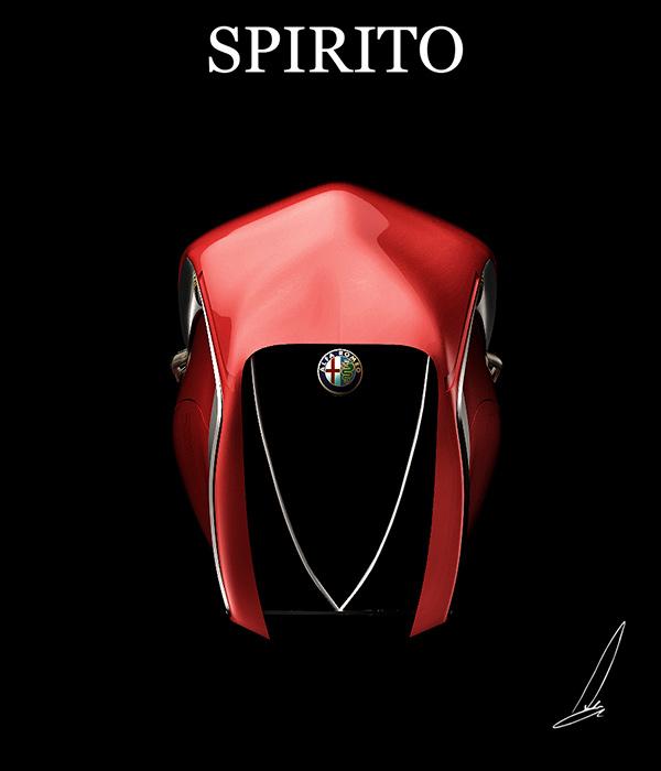 Alfa Romeo Spirito Concept by Mehmet Doruk Erdem