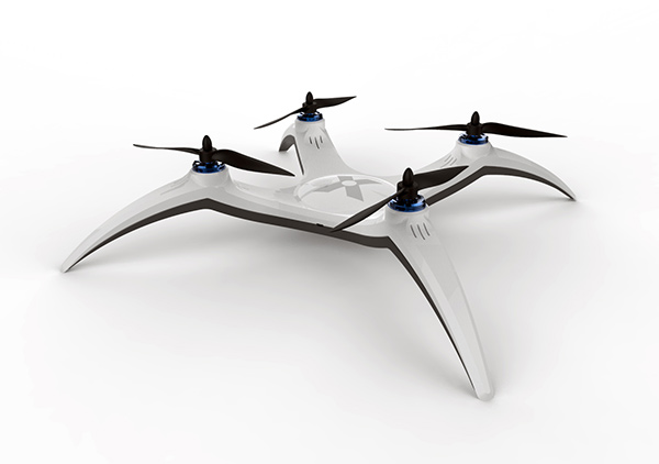 X-Drone Quadcopter by Avi Cohen