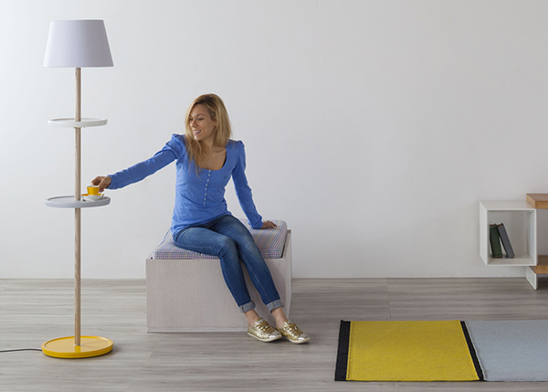 Impila - Floor Lamp by Yu Ito