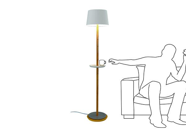 The Ultra Minimal Hybrid Lamp Shelf - image impila_07 on http://bestdesignews.com