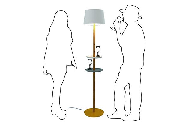 The Ultra Minimal Hybrid Lamp Shelf - image impila_08 on http://bestdesignews.com