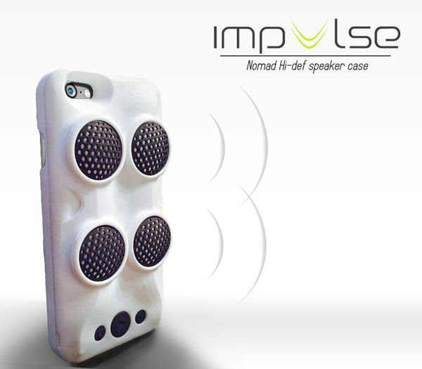 Impulse Speaker Case by Michael Ward and Yoann Lechopier