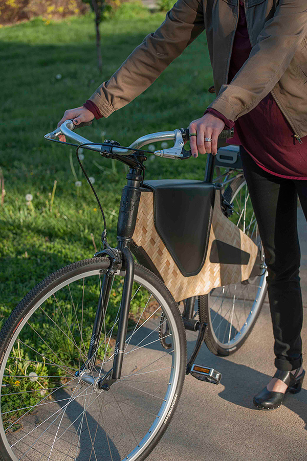 Bamboost Bamboo Composite e-Bike by Lance G. Rake