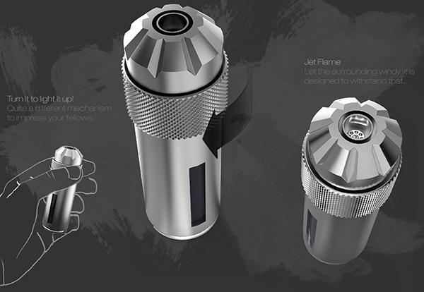 A Lighter for the Shop - image flint_02 on http://bestdesignews.com