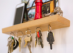 The Magic Key Rack