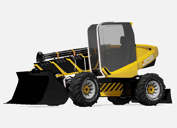JCB 4R-S Emergency First-Response Vehicle by Jake Smith