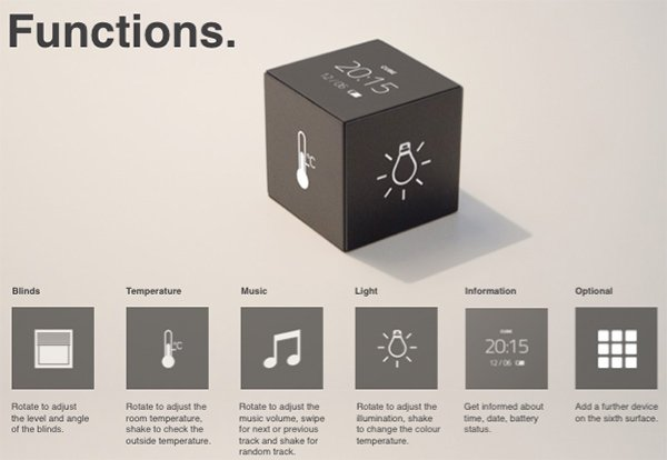 The Smart Home, Simplified - image cube_07 on http://bestdesignews.com
