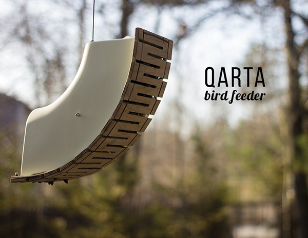 Qarta - Bird Feeder by Tyler Dennis