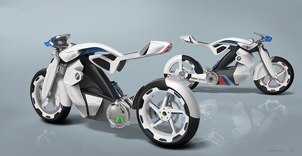 BMW iR Motorcycle by Jordan Cornille