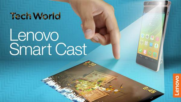 Smart Cast Projector Phone by Lenovo
