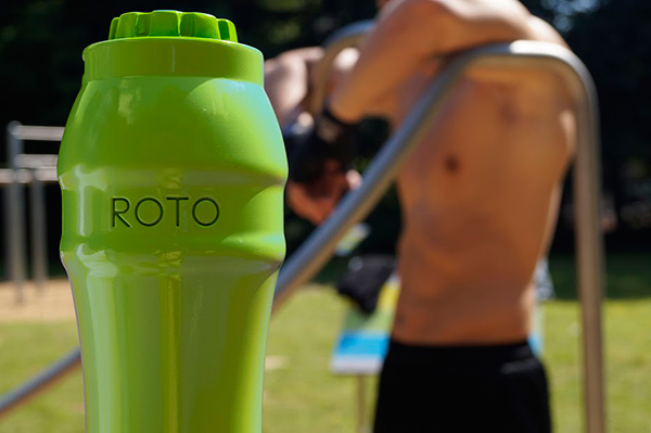 ROTO - Electric Fitness Bottle