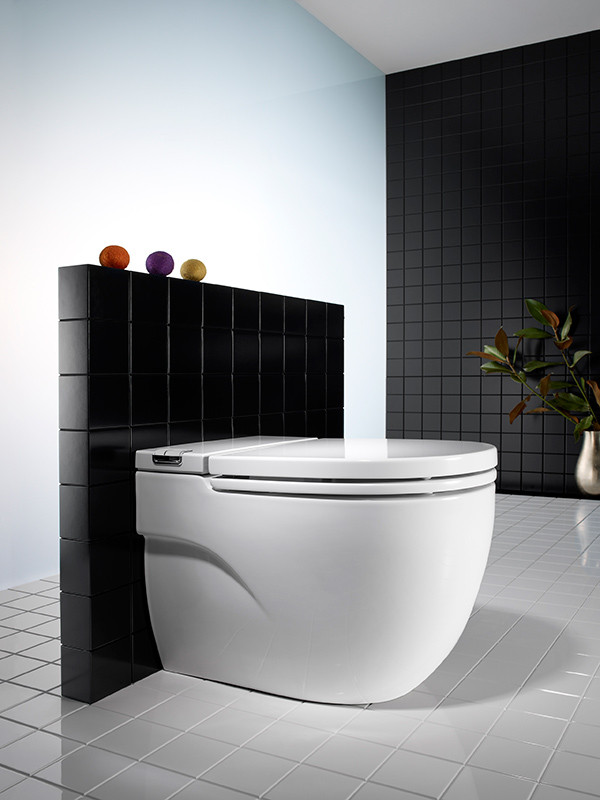 The Gap Rimless Toilet by TROUT Creative Thinking