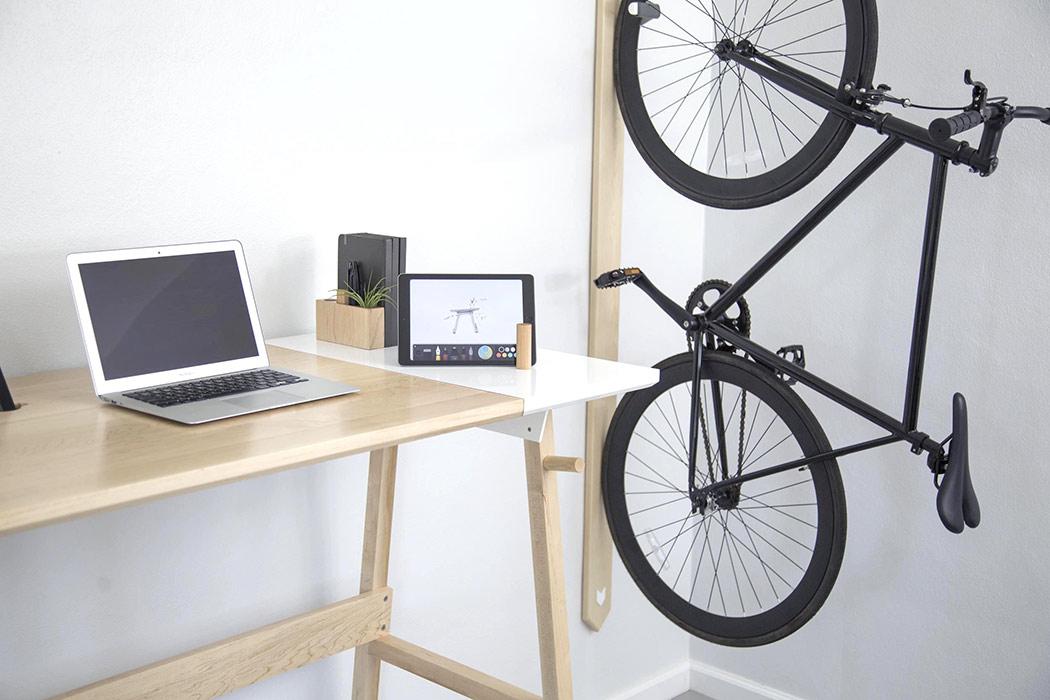 one beautifully basic bike rack yanko design. Black Bedroom Furniture Sets. Home Design Ideas