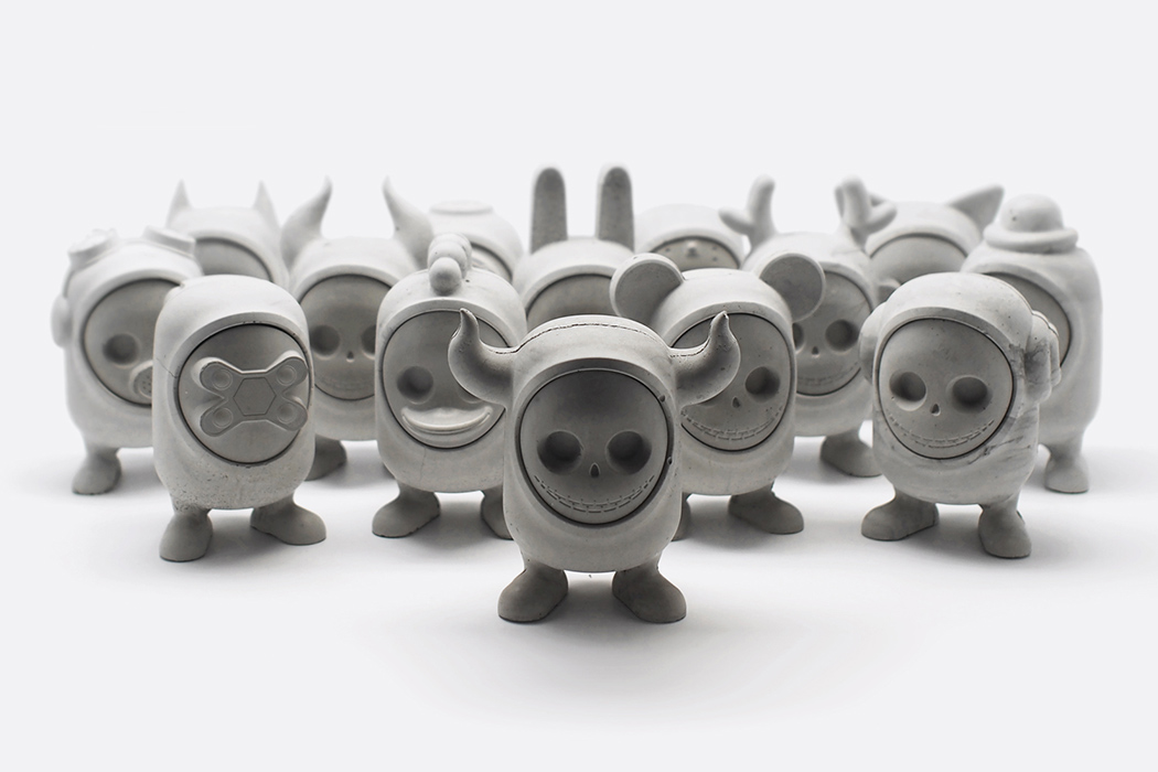 Concrete Art-toys | Yanko Design