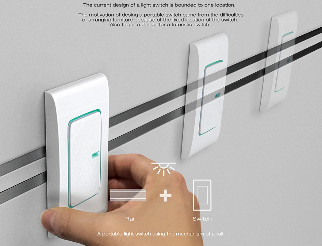 Moving Switches | Yanko Design