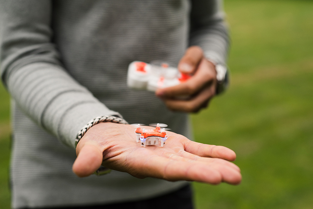 The World's Smallest Drone is Ready for Takeoff!