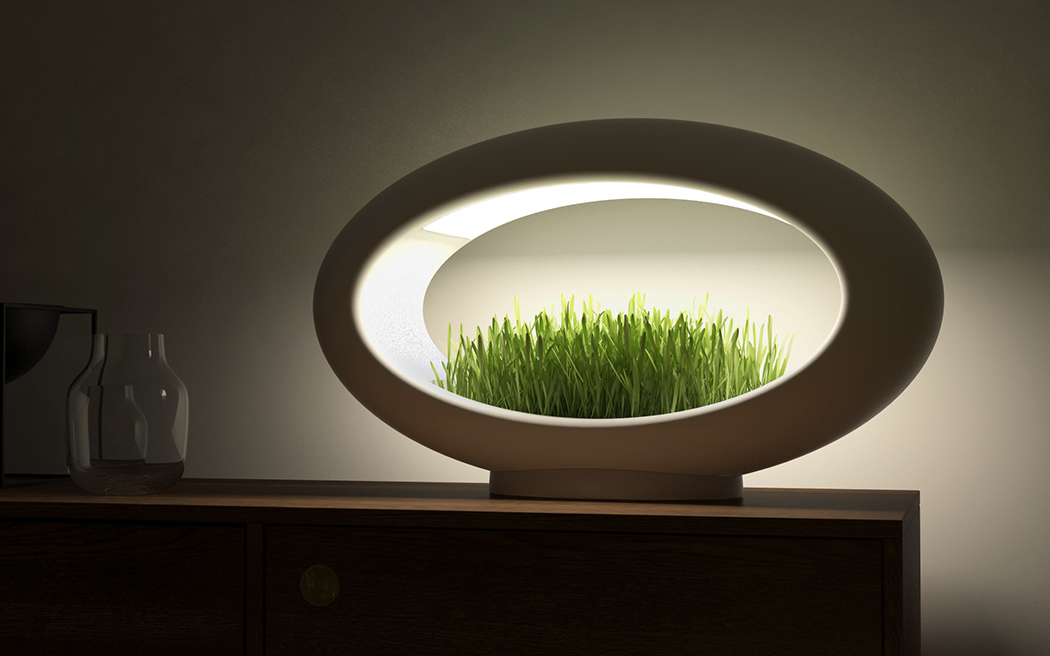 The Modern Desktop Garden Yanko Design