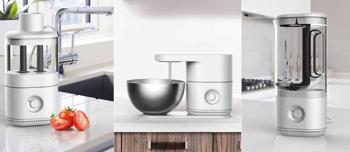 One Kitchen Appliance to Rule Them All! | Yanko Design