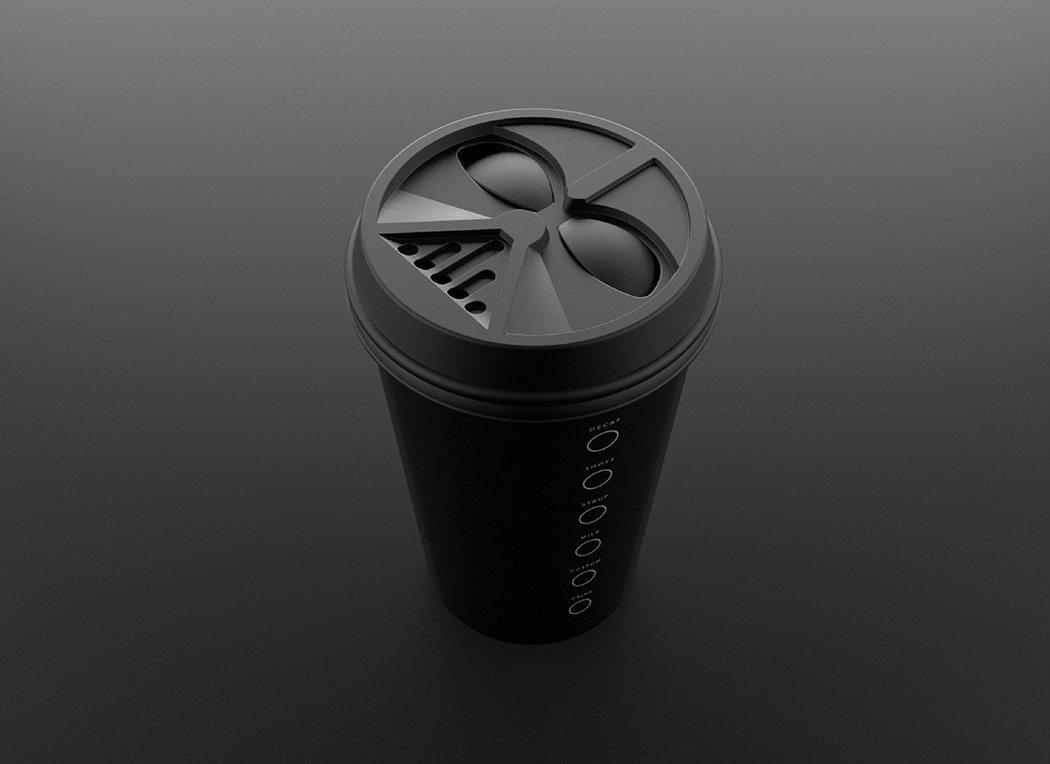 May The Froth Be With You Yanko Design