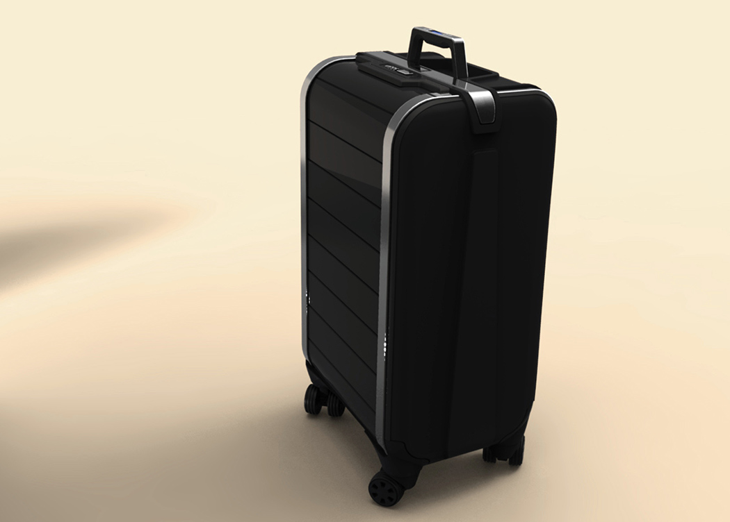 Zipper-less Luggage   Yanko Design