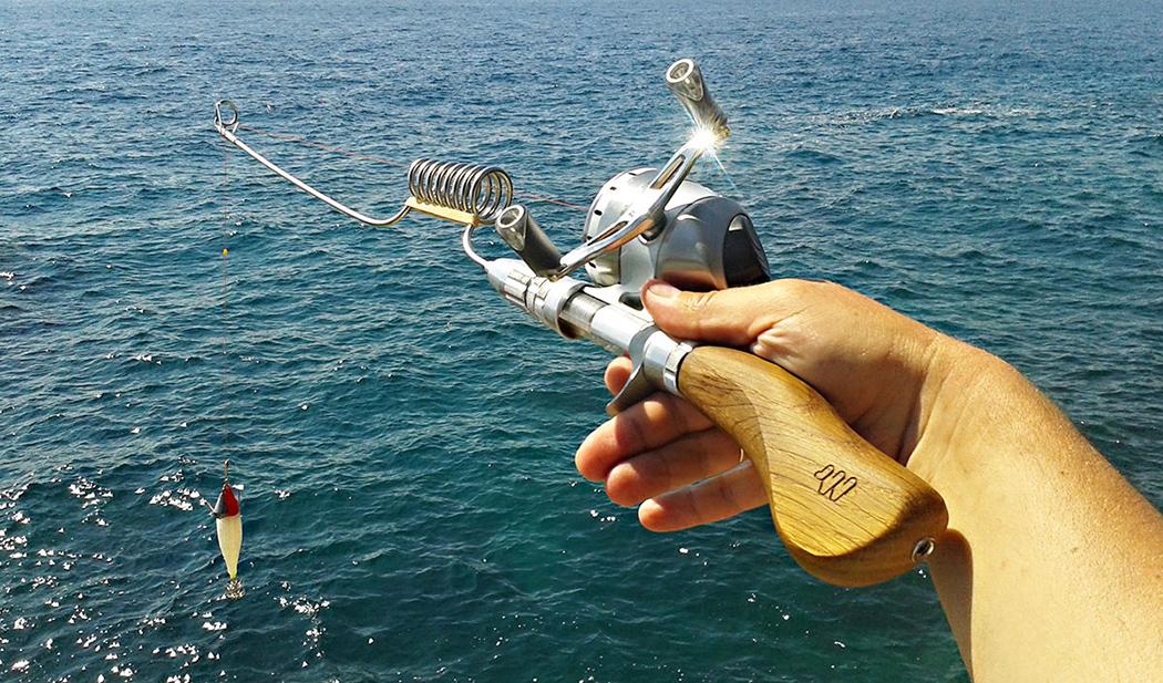 The Swiss Army Knife Of Fishing Rods Yanko Design