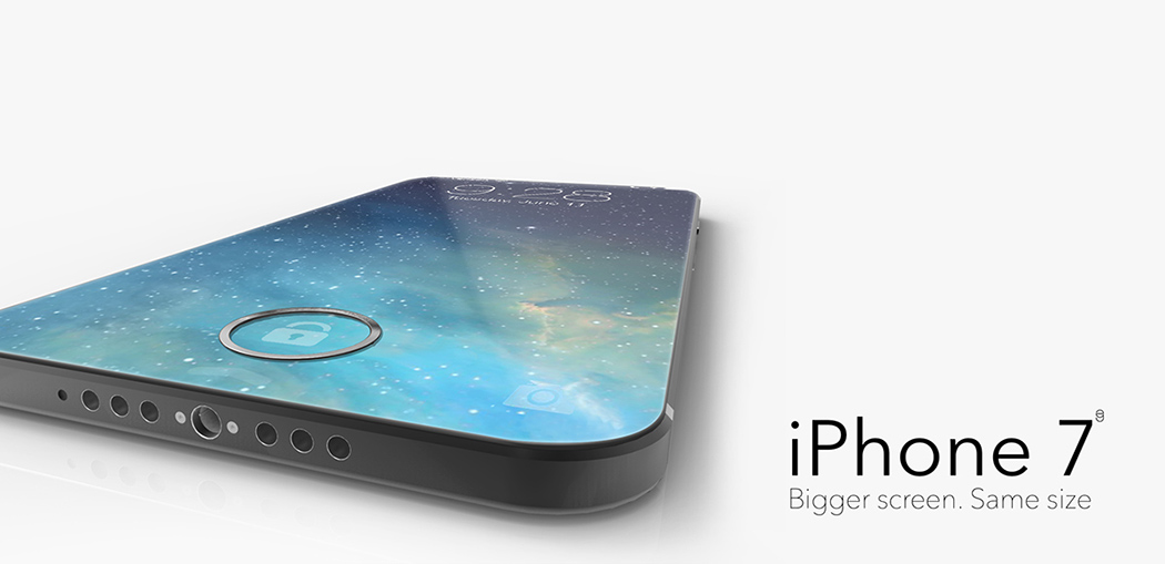 iPhone 7: Bigger Screen, Same Size | Yanko Design