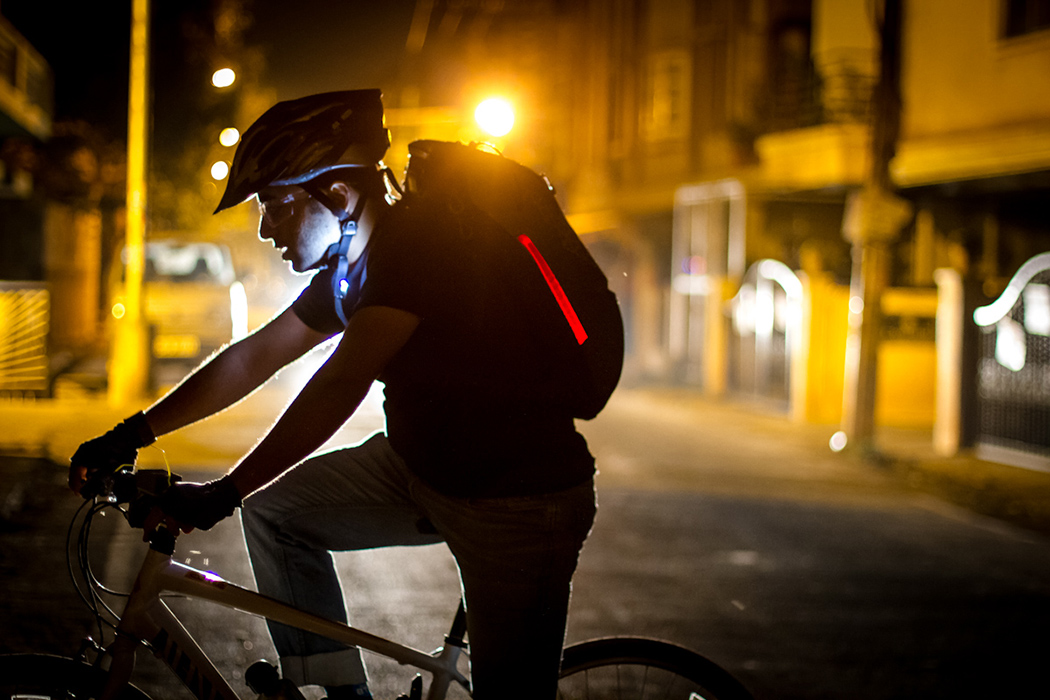 The Design Features Unique Safety Elements Like Integrated Bike Lights, ...